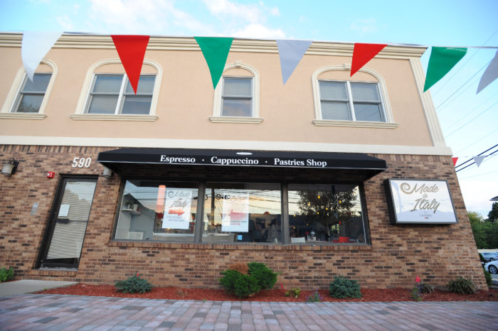 Photos from the grand opening of the Made in Italy cafe in Totowa, NJ on June 21, 2016. (Photo/Christopher Sadowski)